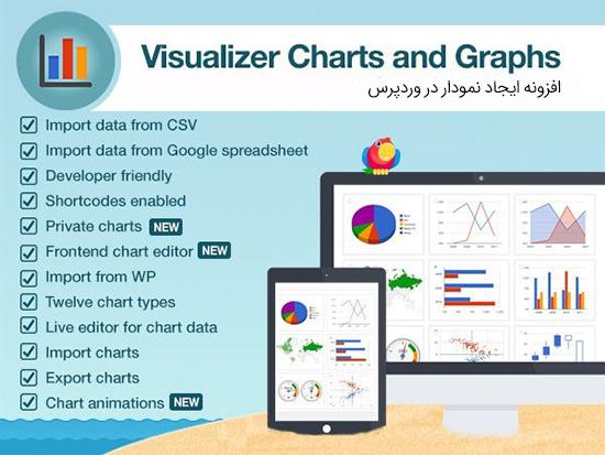 افزونه ایجاد نمودار Visualizer Pro وردپرس