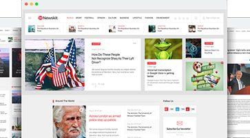 قالب مجله خبری  NewsKit جوملا نسخه 1.6