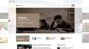 قالب آموزشگاه آنلاین Varsita جوملا نسخه 3.0