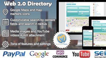 افزونه دایرکتوری Web 2.0 Directory وردپرس نسخه 2.5.8