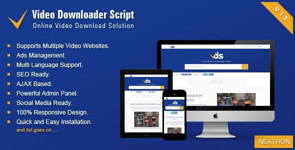 اسکریپت دانلود ویدئو Video Downloader Script