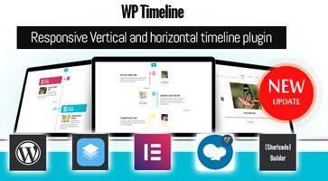 افزونه ایجاد تایم لاین WP Timeline وردپرس نسخه 3.3