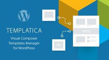 افزونه مدیریت قالب ها ویژوال کامپوسر Templatica وردپرس نسخه 1.1