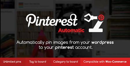 افزونه پین خودکار پینترست Pinterest Automatic وردپرس