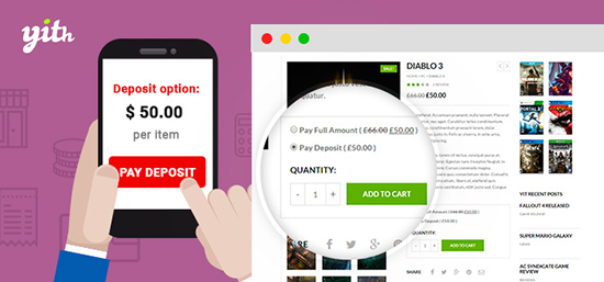 افزونه فروش اقساطی YITH WooCommerce Deposits and Down Payments ووکامرس