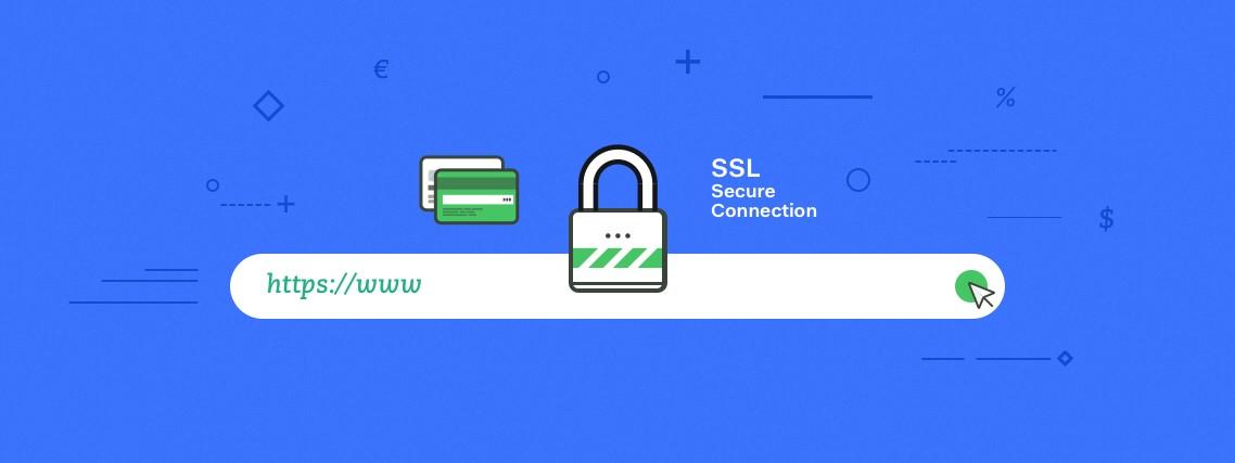 مثالی از پروتکل HTTPS در URL