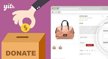 افزونه کمک مالی YITH Donations for WooCommerce ووکامرس نسخه 1.0.18