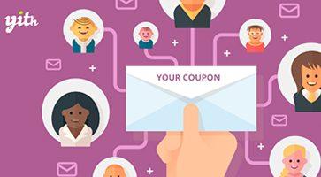 افزونه سیستم ایمیل کوپن YITH WooCommerce Coupon Email System ووکامرس نسخه  1.3.2