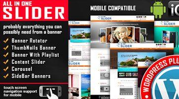 افزونه اسلایدر All In One Slider وردپرس نسخه 3.7.5.1