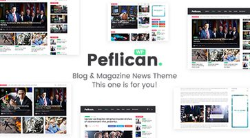 پوسته مجله خبری Peflican وردپرس نسخه 1.0.3
