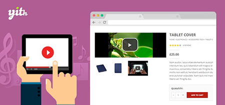 افزونه افزودن ویدئو و صدا به محصولات Featured Audio & Video Content ووکامرس