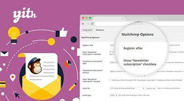 افزونه اتصال ووکامرس به میل چیمپ YITH WooCommerce Mailchimp نسخه 1.1.5