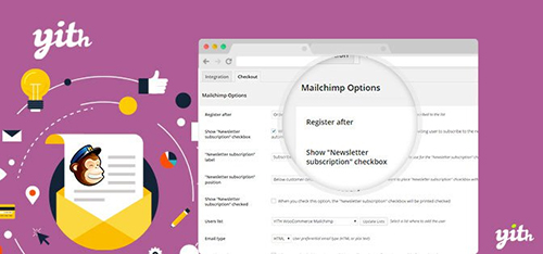 افزونه اتصال ووکامرس به میل چیمپ YITH WooCommerce Mailchimp