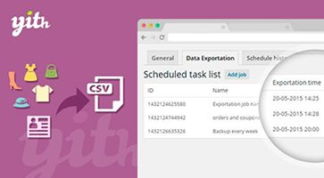 افزونه خروجی سریع YITH WooCommerce Quick Export ووکامرس نسخه 1.2.16