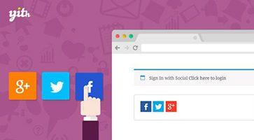 افزونه ورود از طریق شبکههای اجتماعی YITH WooCommerce Social Login ووکامرس نسخه 1.3.7