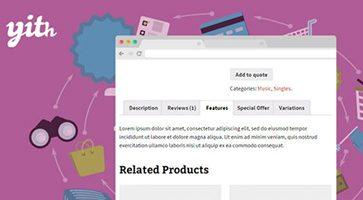 افزونه مدیریت تبهای صفحه محصولات YITH WooCommerce Tab Manager ووکامرس نسخه 1.2.20