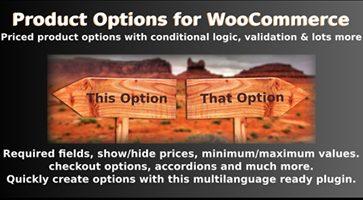 افزونه گزینه های محصول Product Options for WooCommerce ووکامرس نسخه 6.8