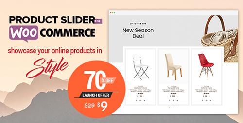 افزونه اسلایدر محصولات Product Slider For WooCommerce ووکامرس