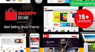 پوسته فروشگاهی ShoppyStore ووکامرس نسخه 3.3.10