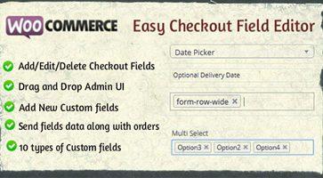 افزونه ویرایش فیلدهای صفحه تسویه حساب Easy Checkout Field Editor ووکامرس نسخه 1.7.0