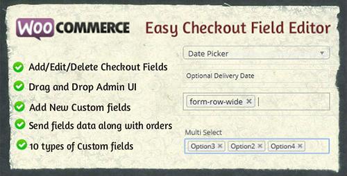 افزونه ویرایش فیلدهای صفحه تسویه حساب Easy Checkout Field Editor ووکامرس