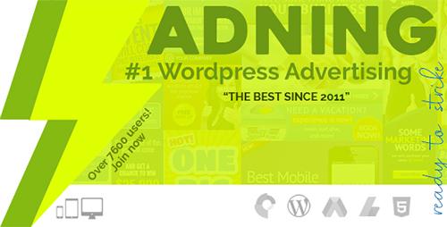 افزونه مدیریت تبلیغات Adning Advertising وردپرس