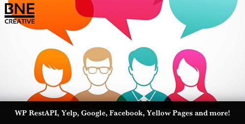 افزونه بررسی و نظرات مشتریان BNE Testimonials Pro وردپرس