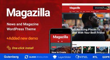 پوسته مجله خبری Magazilla وردپرس نسخه 1.0.3