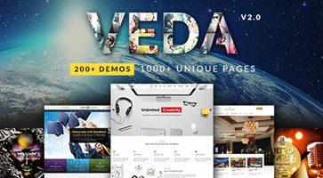 پوسته چندمنظوره VEDA وردپرس نسخه 2.7