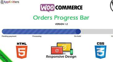 افزونه نوار پیشرفت سفارشات WooCommerce Orders Progress Bar ووکامرس نسخه 1.5.0