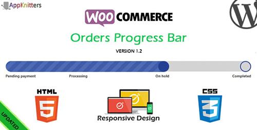 افزونه نوار پیشرفت سفارشات WooCommerce Orders Progress Bar وردپرس