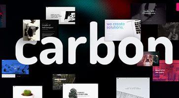 پوسته چندمنظوره Carbon وردپرس نسخه 2.4.2