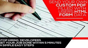 افزونه Form Generating PDF تبدیل فرمها به PDF وردپرس نسخه 3.5.9