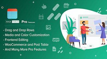 افزونه ایجاد جدول Ninja Tables Pro وردپرس نسخه 3.2.5