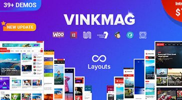 پوسته مجله خبری Vinkmag وردپرس نسخه 1.3