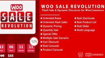 افزونه شمارنده معکوس تخفیف ووکامرس Woo Sale Revolution نسخه 4.5.2
