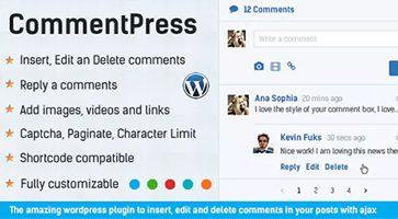 افزونه مدیریت و شخصیسازی نظرات وردپرس CommentPress نسخه 2.6.6