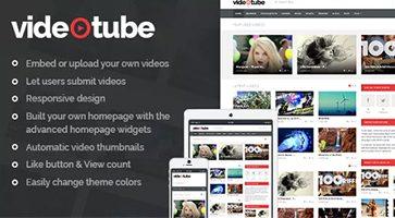 پوسته اشتراک ویدئو VideoTube وردپرس نسخه 3.2.4