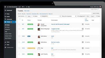 افزونه مدیریت تیکت و ارتباط با مشتریان Catchers وردپرس نسخه 2.6.7