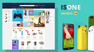 پوسته فروشگاهی IsOne Store ووکامرس نسخه 1.8