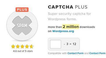 افزونه ضد اسپم کپچا Captcha Plus وردپرس نسخه 5.0.5