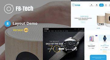 پوسته فروشگاهی FBTech ووکامرس نسخه 2.5