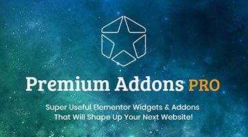 افزونه Premium Addons PRO امکانات جانبی صفحه ساز Elementor Pro نسخه 2.0.3