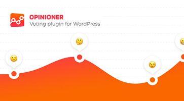 افزونه Opinioner رأی دهی وردپرس نسخه 1.0.0