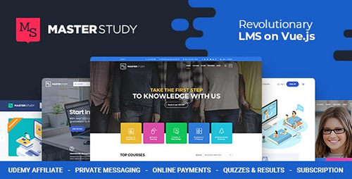 پوسته آموزشگاهی آنلاین Masterstudy وردپرس