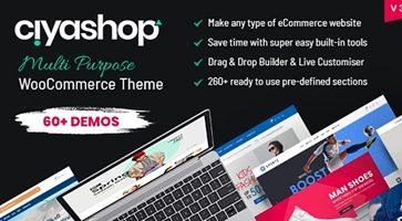 پوسته فروشگاهی CiyaShop ووکامرس نسخه 3.4.7