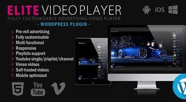 افزونه Elite Video Player پخش کننده ویدئو وردپرس 6.1