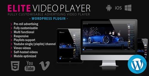 افزونه Elite Video Player پخش کننده ویدئو وردپرس 4.4