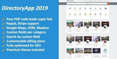 اسکریپت دایرکتوری کسب و کار Directoryapp 2019 نسخه 1.09