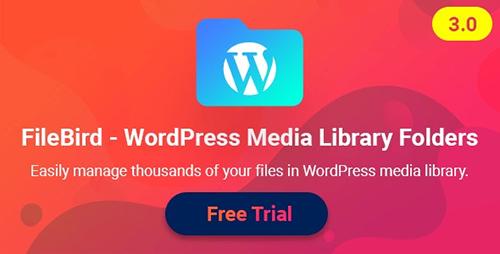 افزونه FileBird پوشه بندی رسانه ها در وردپرس